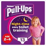 Huggies Large Pull-Ups Night-Time Girl