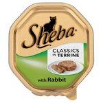 Sheba Classics Tray Rabbit in Terrine