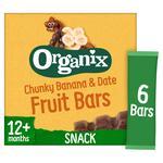 Organix Goodies Fruit Bar Banana & Date