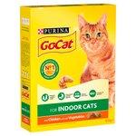 Go-Cat for Indoor Cats with Chicken & Garden Greens