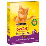 Go-Cat Senior with Chicken, Rice & Added Vegetables