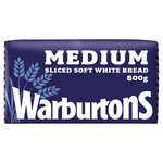 Warburtons Medium Sliced White