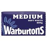 Warburtons Medium Sliced White