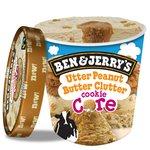 Ben & Jerry's Cookie Core Utter Peanut Butter Clutter Ice Cream