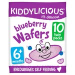 Kiddylicious Blueberry Wafers