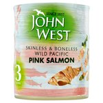 John West Pink Salmon Skinless & Boneless