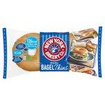 New York Bagel Co Plain Bagel Thins