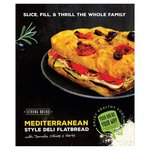 Strong Bread Mediterranean Deli Flatbread with Tomato, Olive & Herbs