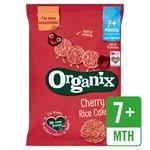 Organix Cherry Rice Cakes Stage 2