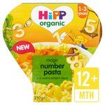 HiPP Organic Number Pasta Shapes with Vegetables