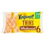 Kingsmill Wholemeal Sandwich Thins