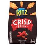 Ritz Crisp & Thin Sweet Red Chilli Crisps