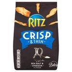 Ritz Crisp & Thin Sea Salt & Vinegar Crisps