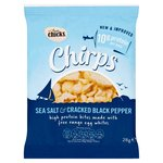 Two Chicks Chirps Sea Salt & Black Pepper High Protein Egg White Bites