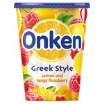 Onken Greek Style Lemon & Raspberry