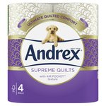Andrex Quilts Toilet Tissue