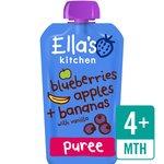 Ella's Kitchen Blueberries, Apples, Bananas & Vanilla