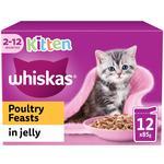 Whiskas Kitten Pouch Poultry in Jelly