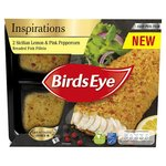 Birds Eye 2 Lemon & Pink Peppercorn Breaded Fish Fillets
