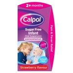 Calpol 2+Months Infant Sugar Free Liquid, Strawberry