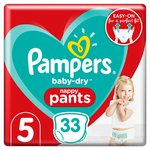 Pampers Baby Dry Pants Size 5 Essential Pack
