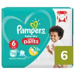 Pampers Baby Dry Pants Size 6 Essential Pack