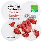 Essential Waitrose Chopped Italian Tomatoes in Juice