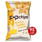 Popchips Mature Cheddar & Onion Share Bag