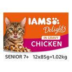 Iams Delights Senior Chicken in Gravy