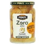 Ponti Zero Oil Pepper & Lemon Artichokes