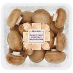 Ocado Family Pack Chestnut Mushrooms