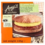 Amy's Kitchen Gluten Free Breakfast Sandwich Frozen