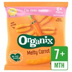 Organix Finger Foods Organic Crunchy Carrot Sticks