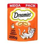 Dreamies Cat Treats Chicken Mega Pack