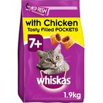 Whiskas 7+ Complete Dry with Chicken