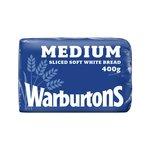 Warburtons White Sliced Medium Loaf