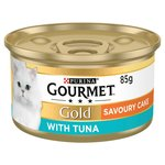 Gourmet Gold Cat Food Savoury Cake Tuna