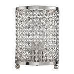 Agnes -  Chrome Patterned Table Lamp