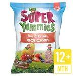 Super Yummies Pear & Berries Rice Cakes