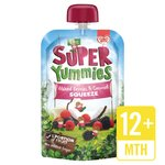 Super Yummies Mixed Berries & Coconut Squeeze Pouch