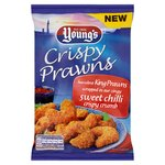 Young's Crispy Prawns in a Sweet Chilli Crumb Frozen