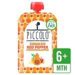 Piccolo Organic Butternut Squash, Red Pepper & Chickpea