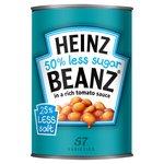 Heinz Baked Beanz 50% less Sugar