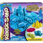Kinetic Sand Box Set - Blue 3 +