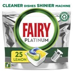 Fairy Platinum All in One Orange Dishwasher Tablets