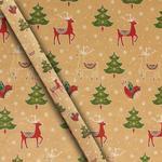 Christmas craft Icons Gift Wrap 4m