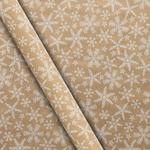 Waitrose Craft Snowflake Gift Wrap 4m
