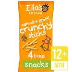 Ella's Kitchen Carrot & Lentil Crunchy Sticks