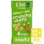 Ella's Kitchen Cheddar & Leek Crunchy Wheels