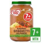 Cow & Gate Scrummy Spaghetti Bolognese Jar